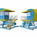 new miami beach lifeguard stations