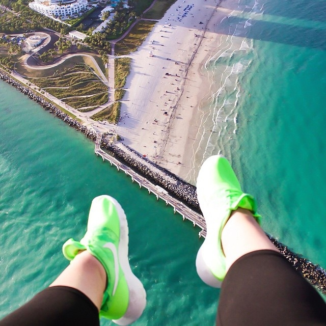 ariel view miami south point by female photoagrapher