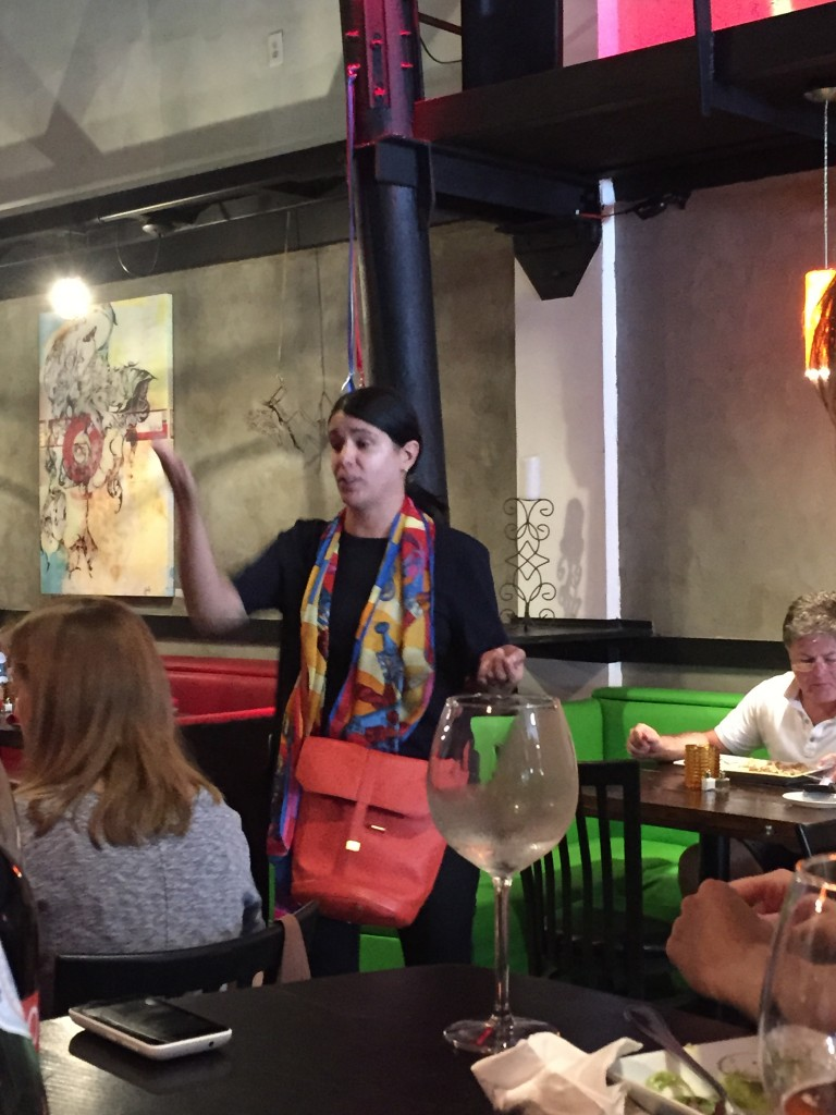 Grace D tour guide and Founder of Miami Food Tours