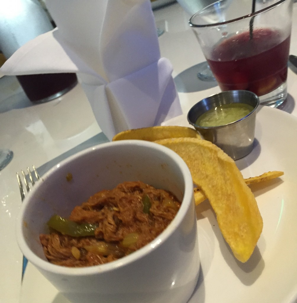 Ropa VIeja at Larios at the Beach