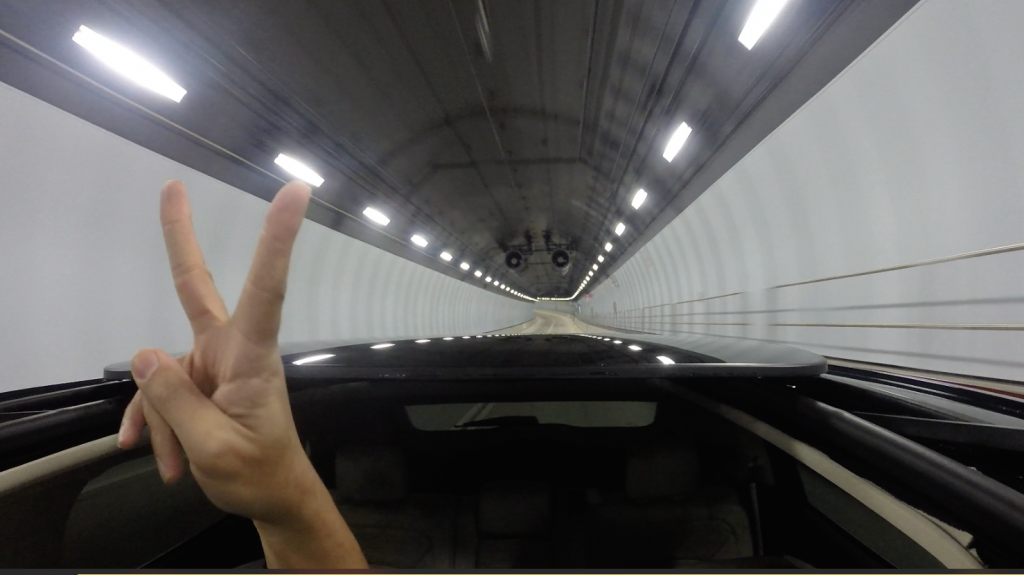 Miami tunnel with the MKX