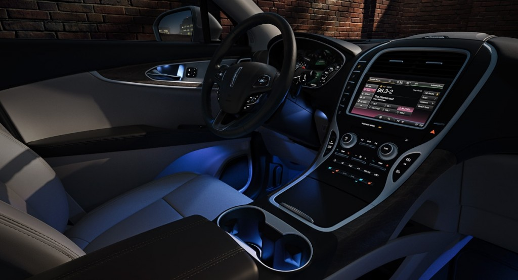 Interior of the MKX