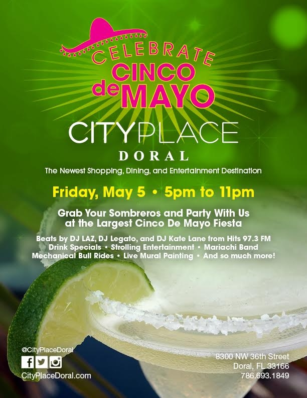 cinco de mayo Miami 2017