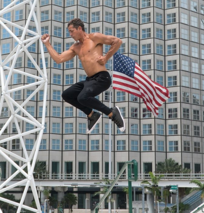 MIami Acrobat Super Flag (1 of 1)