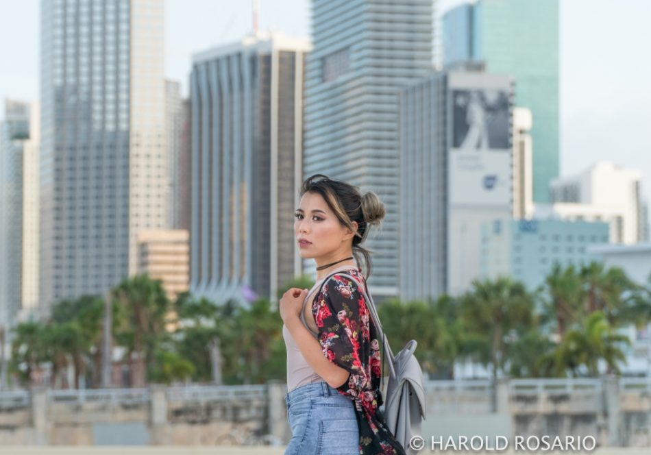 scenic portrait in miami